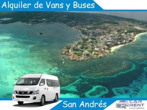 Alquiler de Vans Minivan y Buses en San Andrés