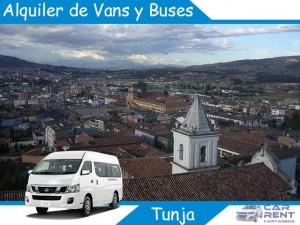 Alquiler de Van Minivan y Buses en Tunja