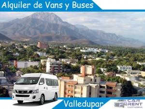 Alquiler de Van Minivan y Buses en Valledupar