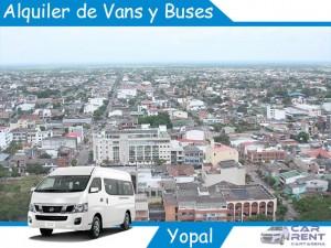 Alquiler de Van Minivan y Buses en Yopal