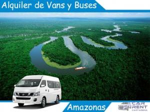 Alquiler de Vans, Minivan y Buses en el Amazonas