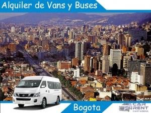 Alquiler de Van Minivan y Buses en Bogotá