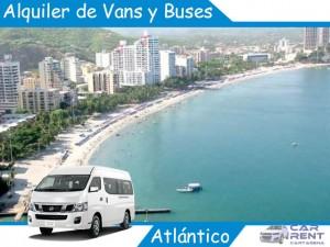 Alquiler de Van Minivan y Buses en Atlántico
