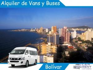 Alquiler de Van Minivan y Buses en Bolivar