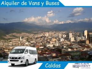 Alquiler de Van Minivan y Buses en Caldas