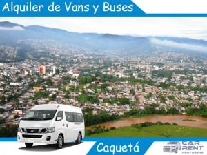 Alquiler de Van Minivan y Buses en Caquetá