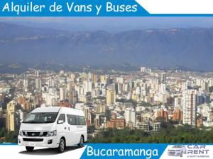 Alquiler de Vans, Minivan y Buses en Bucaramanga