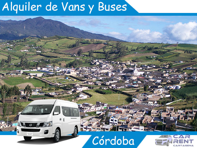 Alquiler de Van Minivan y Buses en Córdoba