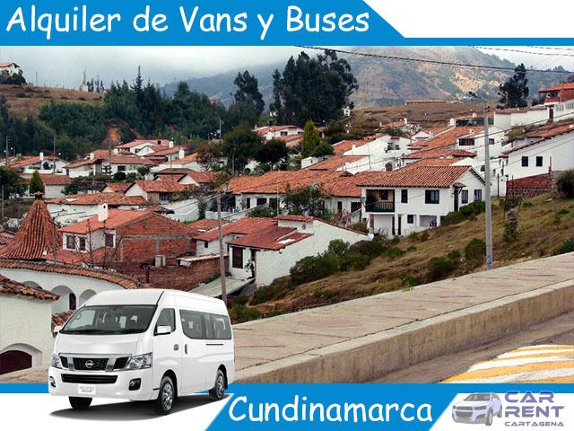Alquiler de Van Minivan y Buses en Cundinamarca