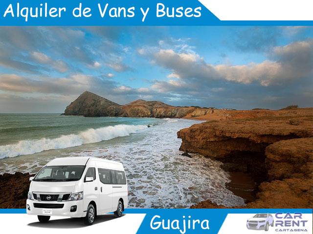 Alquiler de Van Minivan y Buses en La Guajira