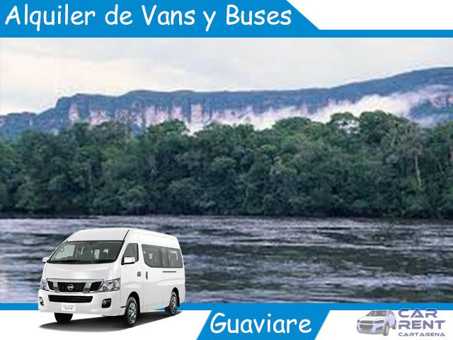 Alquiler de Van Minivan y Buses en Guaviare