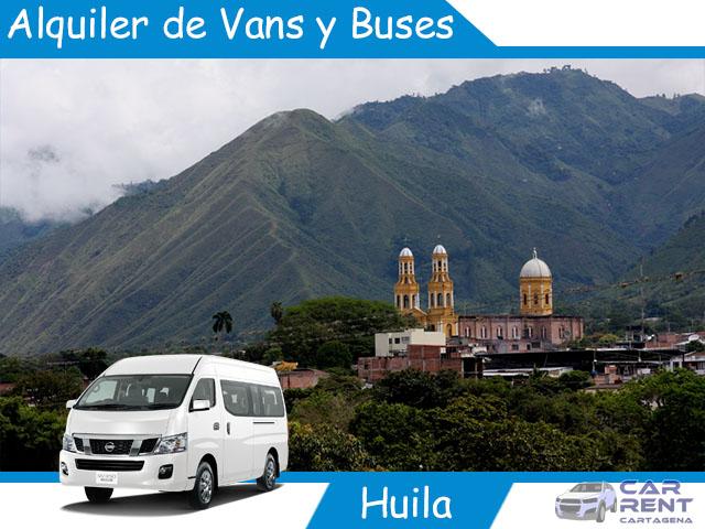 Alquiler de Van Minivan y Buses en Huila