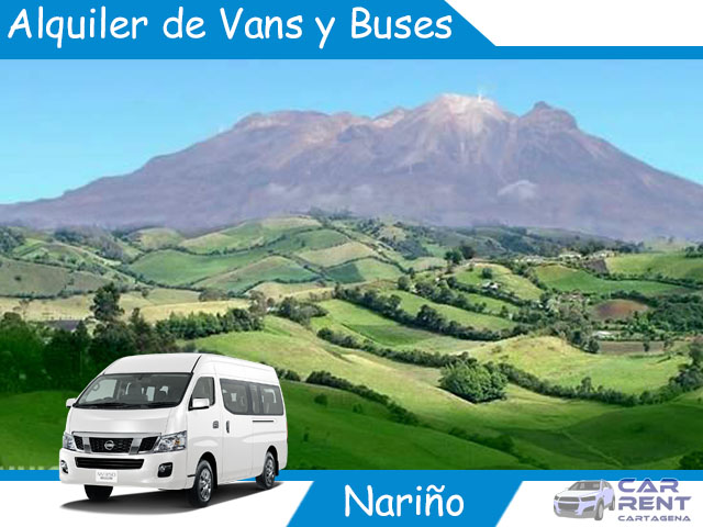 Alquiler de Van Minivan y Buses en Nariño