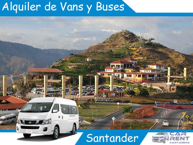Alquiler de Van Minivan y Buses en Santander