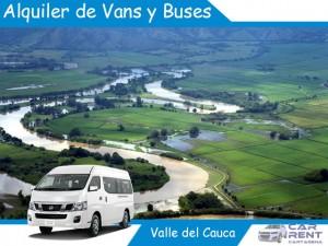 Alquiler de Van Minivan y Buses en Valle del Cauca