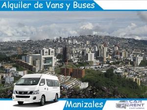 Alquiler de Vans Minivan y Buses en Manizales