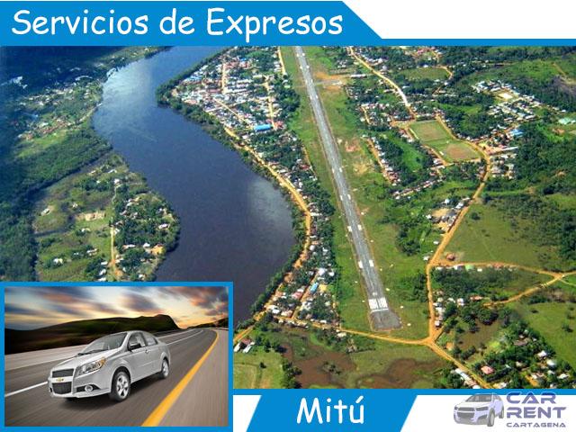 Servicios de expresos en Mitú