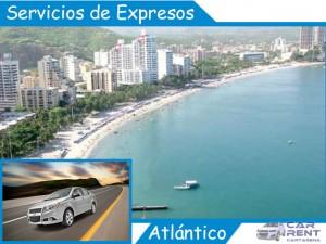 Servicio de expresos en Atlántico