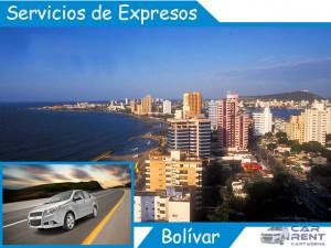 Servicio de expresos en Bolívar