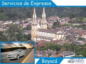 Servicio de expresos en Boyacá