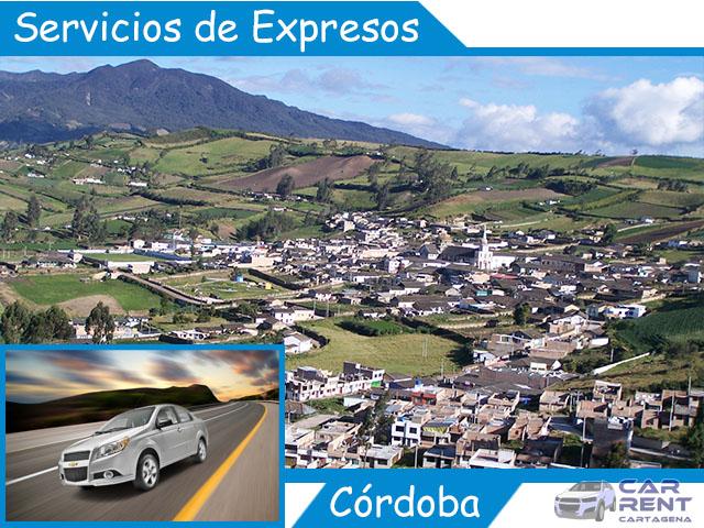 Servicio de expresos en Córdoba
