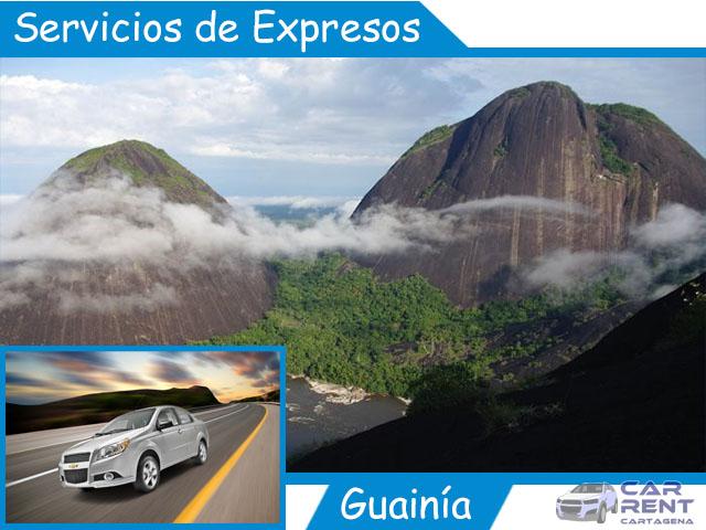 Servicio de expresos en Guainía