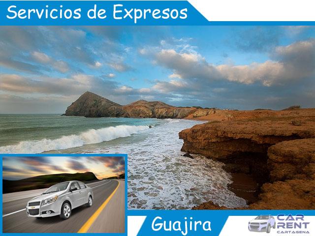 Servicio de expresos en La Guajira