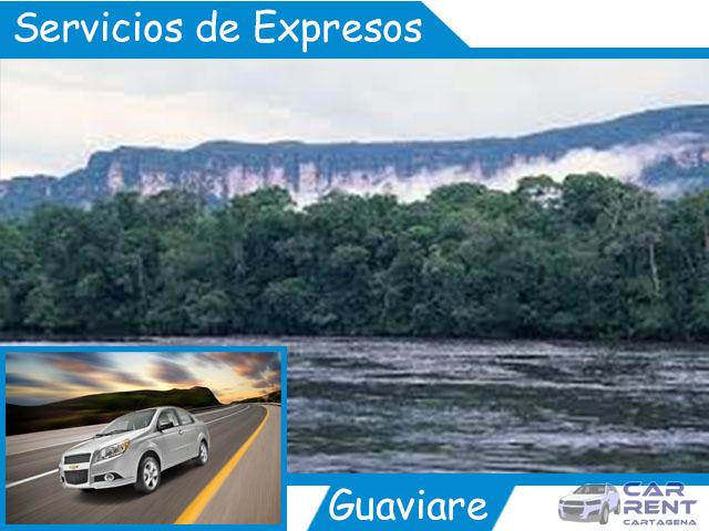 Servicio de expresos en Guaviare