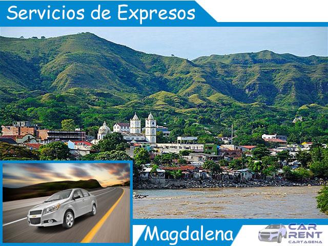 Servicio de expresos en Magdalena