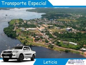 Alquiler de Transporte Especial en Leticia