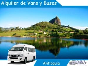 Alquiler de Vans Minivans y Buses en Antioquia