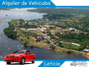 Alquiler de vehiculos en Leticia