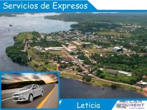 Alquiler de Servicios de Expresos en Leticia